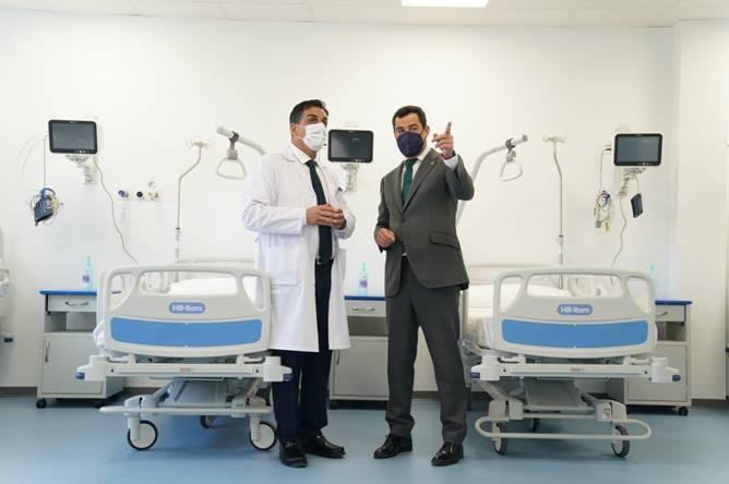 Luminarias Saluz hospital ubeda